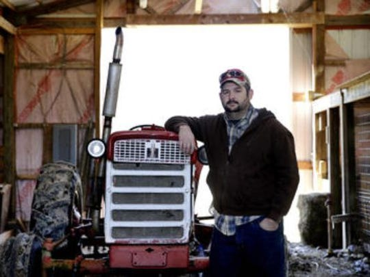 Jonathan Lawler is gearing up for planting season at Brandywine Creek Farms, a nonprofit operation he founded to help feed the hungry in Central Indiana.