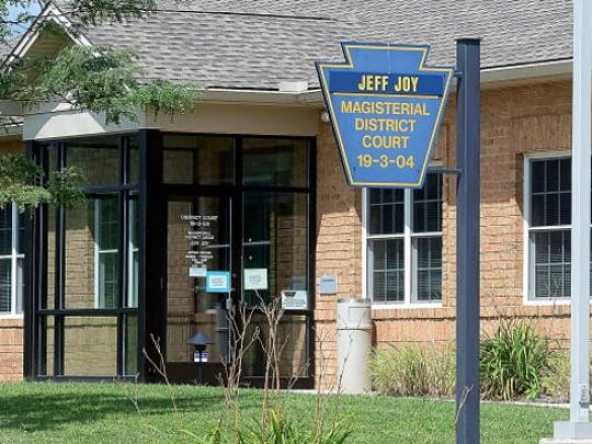 The Shrewsbury-area magisterial district judge office