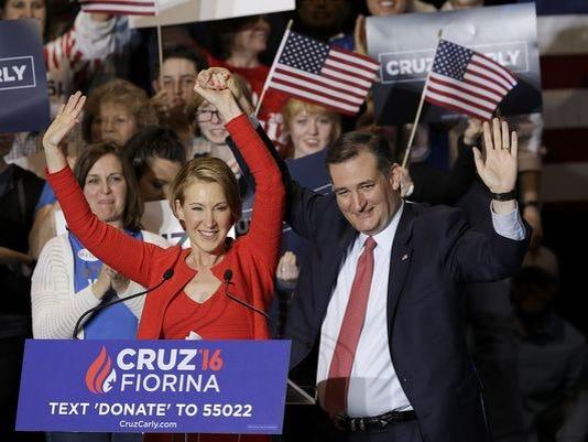 Cruz and Fiorina