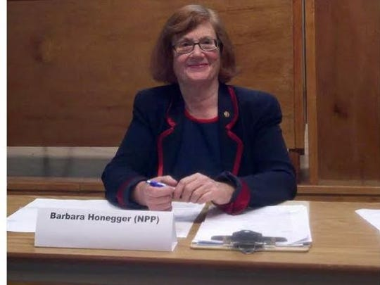 Barbara Honegger.