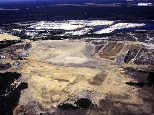 The former Heritage Minerals mining quarry could be Manchester's massive town center.