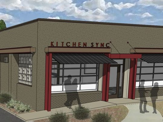 The Kitchen Sync restaurant is nearing completion and will open its doors sometime in late May or early June.