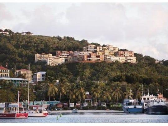 The Sirenusa resort in the Caribbean island of St.