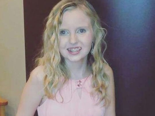 Emma Stumpf, 14, Greenwood, will be Grand Marshal of