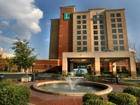 This Embassy Suites Hotel and Conference Center is