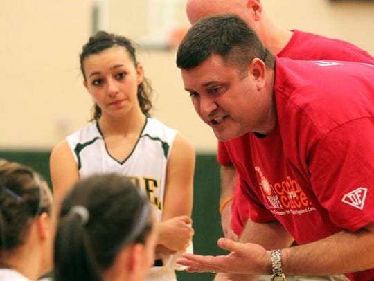 Former Roosevelt High School girls' basketball coach