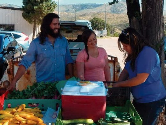 The Ruidoso Downs Farmers Market begins at 6 p.m. Friday and runs Saturday until 3 p.m. at All American Park.