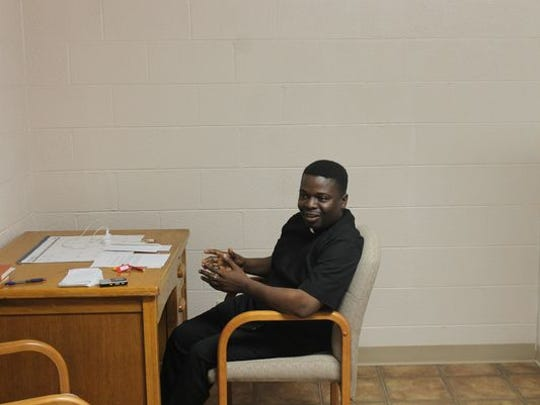Father Theophine grew up in Awka, Nigeria before leaving for the United States at age 20.