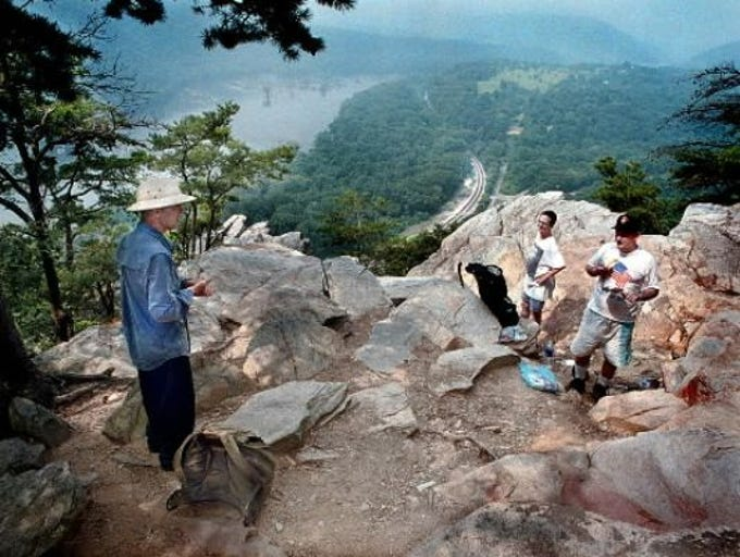 Earl Shaffer was the first to thru-hike the 2,100-plus
