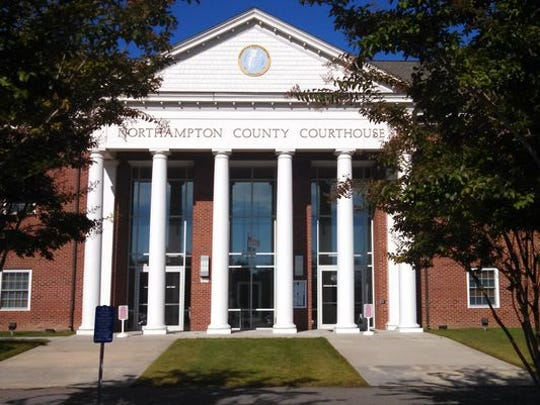 Northampton County courthouse in Eastville has documents dating to 1632 — the longest unbroken set of courthouse records in the United States.