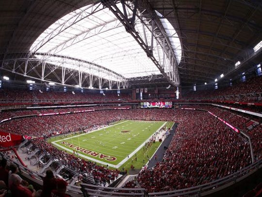 University of Phoenix Stadium, home of the Arizona
