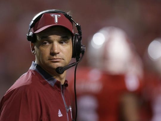 Troy head coach Neal Brown.