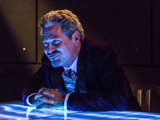 """Bill Simmons plays Papa, the purveyor of a mysterious business in the play, """"The Nether."""""""