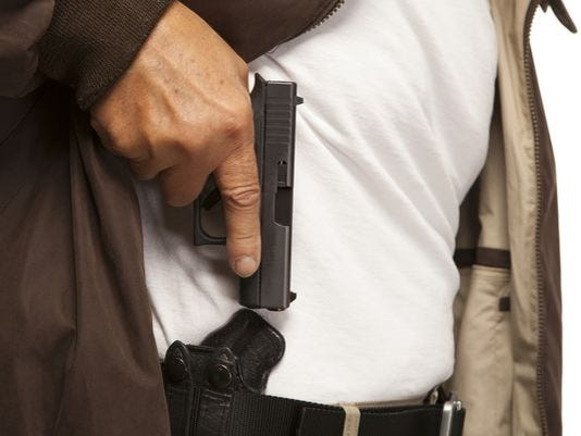 Conceal and carry gun ruling