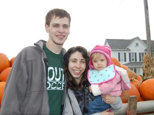 Edward Russell Hitt, Briana Mae Anderson and their daughter Charlotte Reagan Hitt were killed in a crash in Rockaway Township on July 11, 2015.