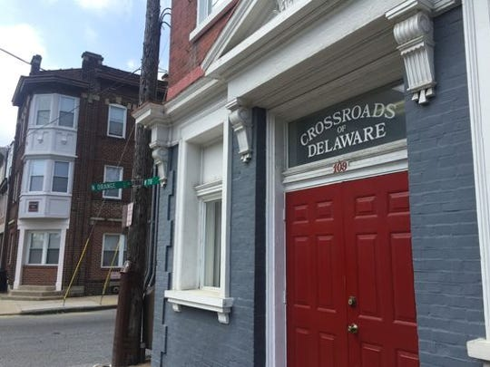The alcohol and substance abuse clinic Crossroads of Delaware is shown in Wilmington in May. The organization is closing in mid-July.