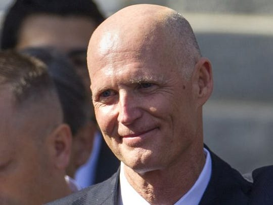 Gov. Rick Scott has asked President Obama to declare a federal state of emergency over the discharge of water from Lake  Okeechobee.