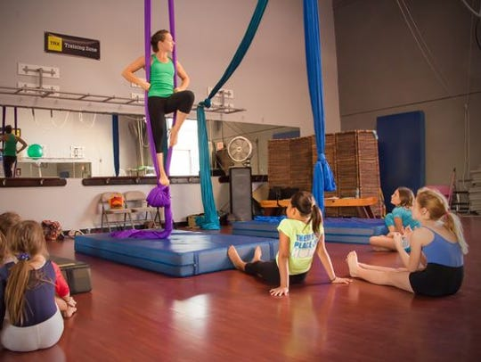 Learn to balance, juggle and fly at Circus School of