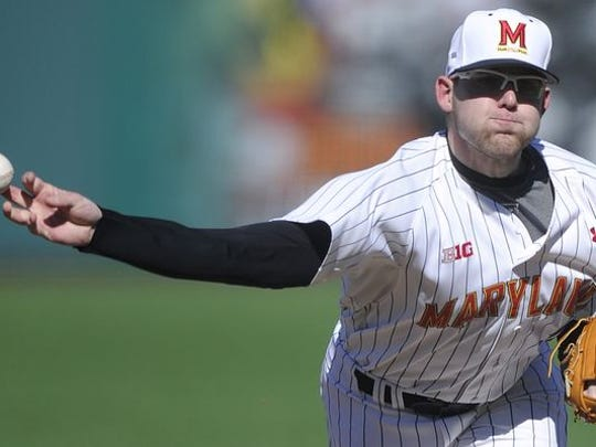 Mike Shawaryn left Maryland with a host of school records. The right-hander was drafted by the Boston Red Sox in the fifth round.