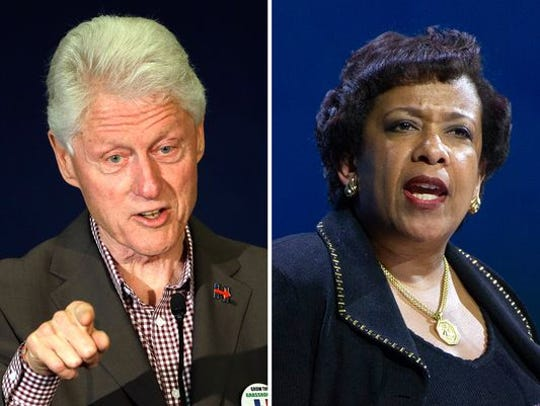 Attorney General Loretta Lynch crossed paths with former