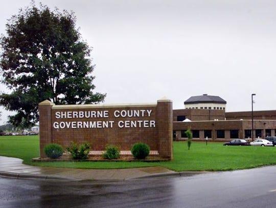 Sherburne County Government Center in Elk River.
