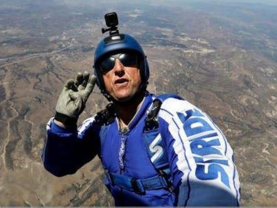 Luke Aikins jumped from 25,000 feet without a parachute. Luke, you crazy.