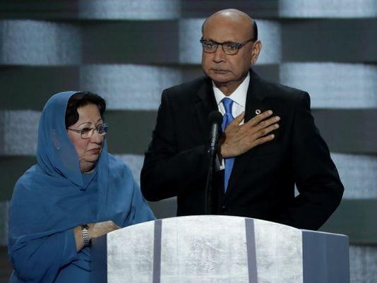 Muslim family.