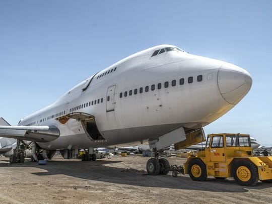 The 747 art plane installation bound for Burning Man
