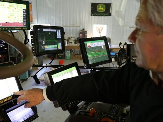 Illinois farmer Ken Dalenberg, a member of the Farmers