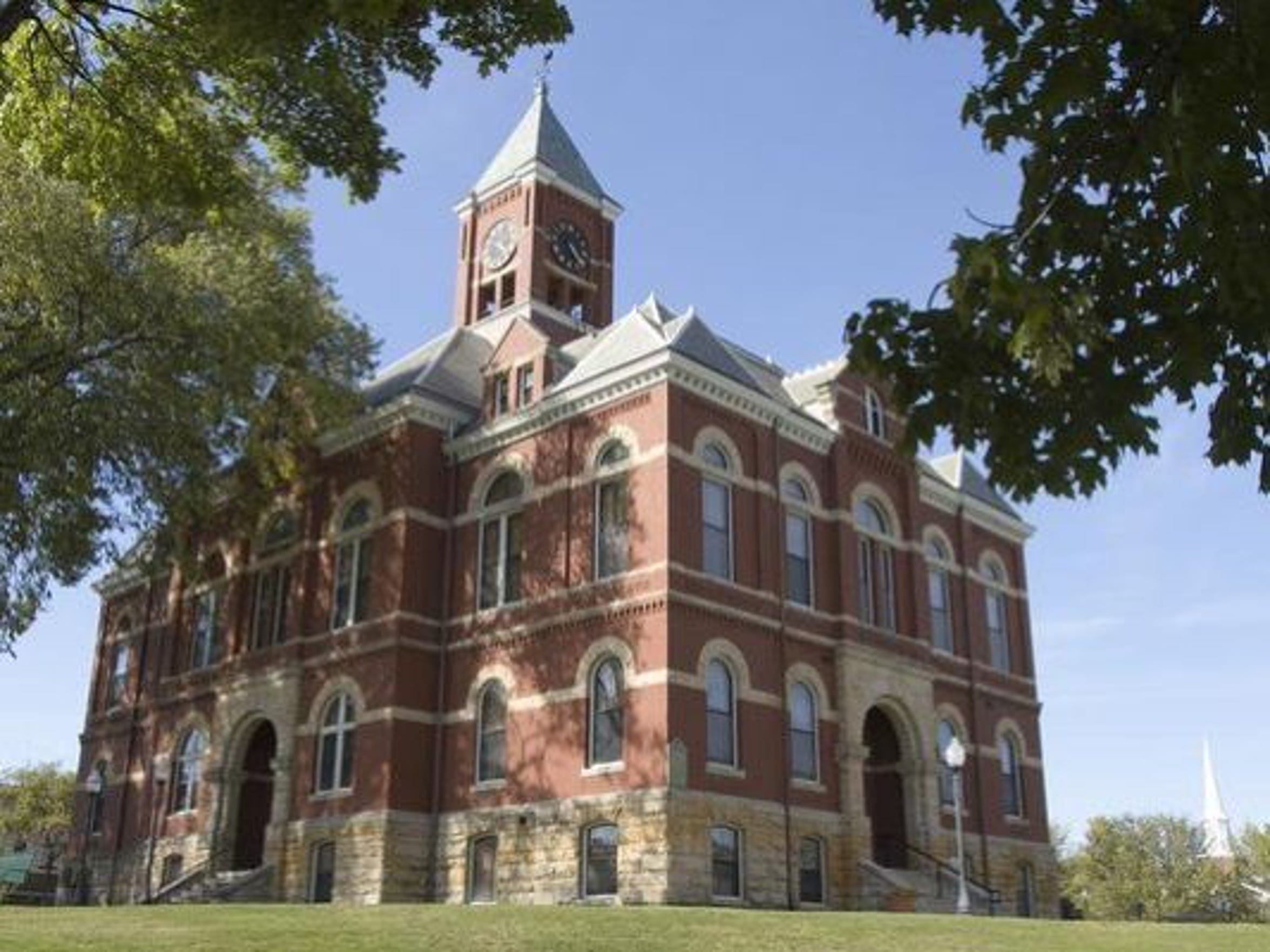 The historic Livingston County Courthouse is on the