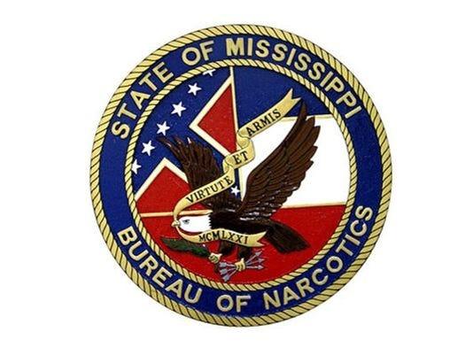 Mississippi Bureau of Narcotics logo