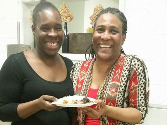 Susan Shaw, left, and her mother Elsa Wood opened Shaw's Jamaican Kitchen in November 2015. The business has moved to the former location of Marvin's, 2824 Stanley St.