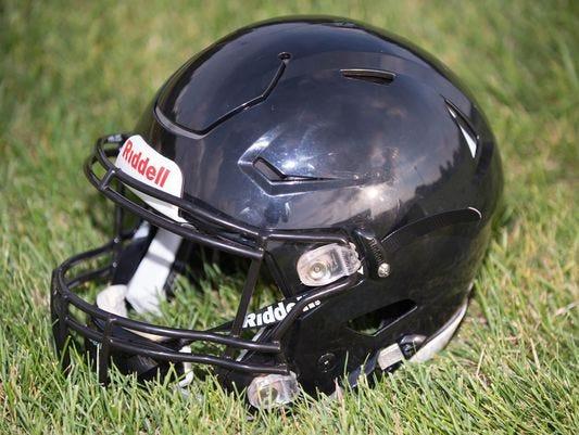 Marshall football helmet.
