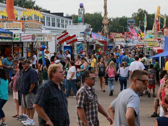 The Central Wisconsin State Fair will take place Aug. 31-Sept. 5, 2016 in Marshfield.