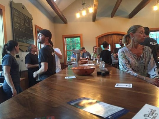 Dew Point Brewing opened recently in Yorklyn.