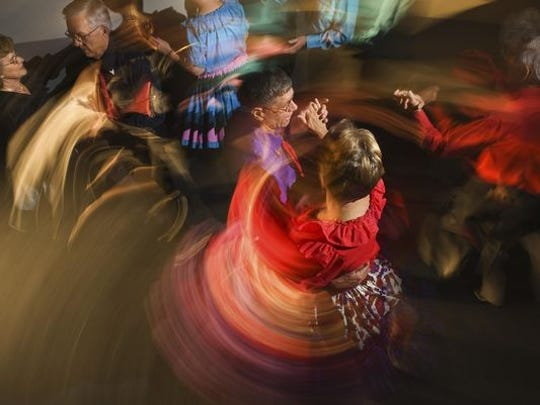 Learn to contra dance at the Swingin Tern contra dance in Hanover on Saturday night.