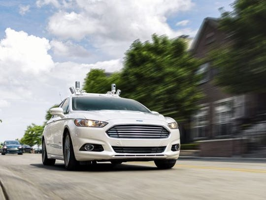Ford Motor Company is busy testing its Fusion Hybrid's