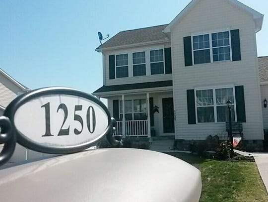 This is the Jackson Twp. home of Susan Hoke, who was
