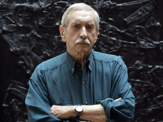 A 2008 photo of Edward Albee