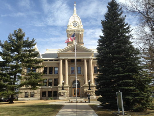 The Ingham County Courthouse in Mason