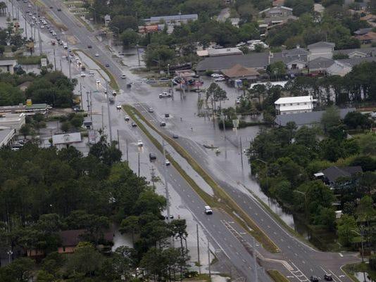 Gulf Breeze Flooding