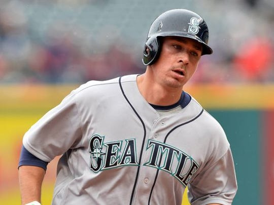 Steve Clevenger of the Seattle Mariners was suspended