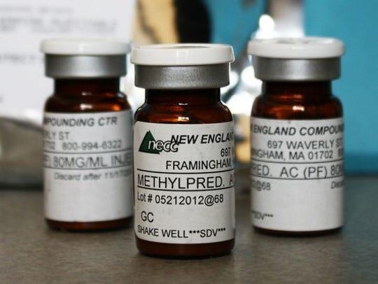 A fungal meningitis outbreak was linked to contaminated