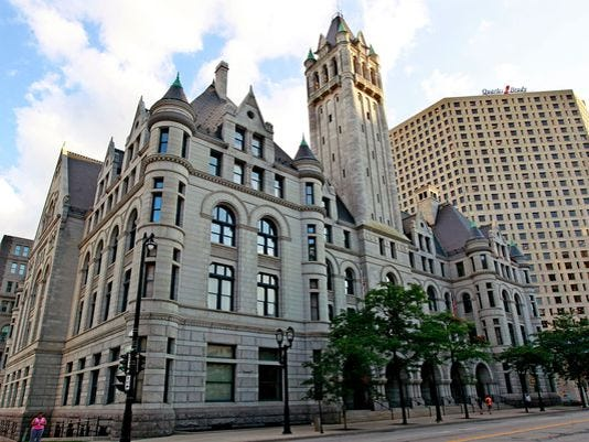 Federal courthouse in Milwaukee