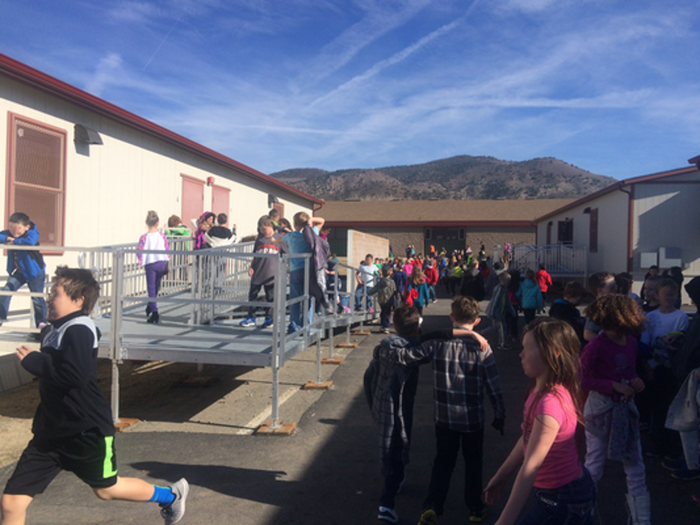 Brown Elementary School has 10 portable classrooms.