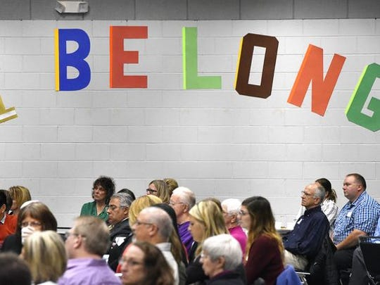 The 2015 Conversation on Race brought St. Cloud-area residents together to hear stories on belonging. This year, the event will be Oct. 18.