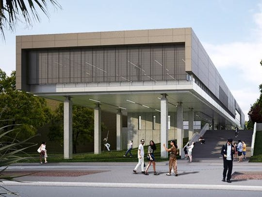 This is a rendering of El Paso Community College's