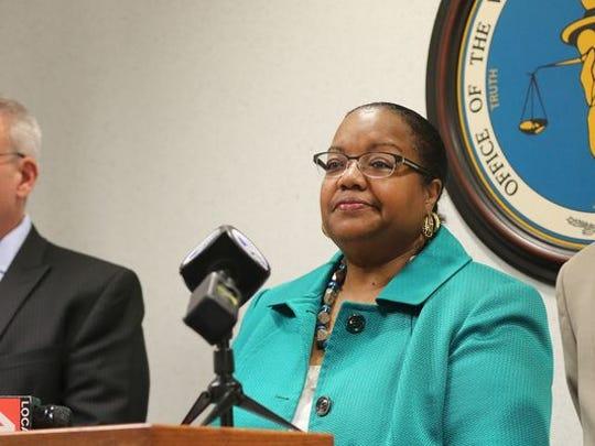 Wayne County Prosecutor Kym Worthy.
