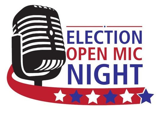 Election Open Mic Night will be held at Thrive on Monday.