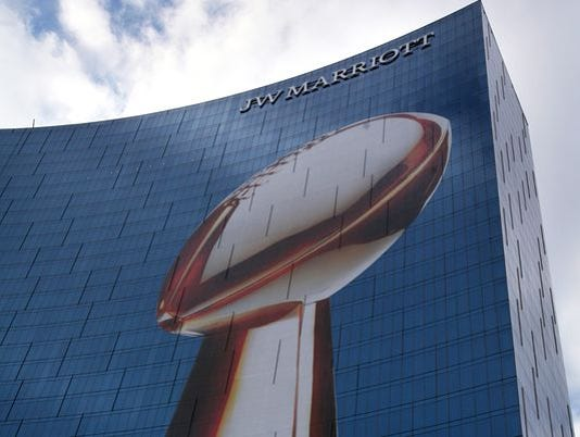 2012 Super Bowl in Indianapolis